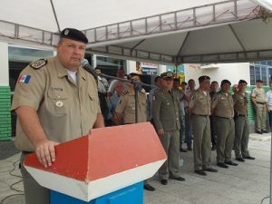 Paulo Domingos de Araújo Lima Júnior Comandante-geral da PMAL
