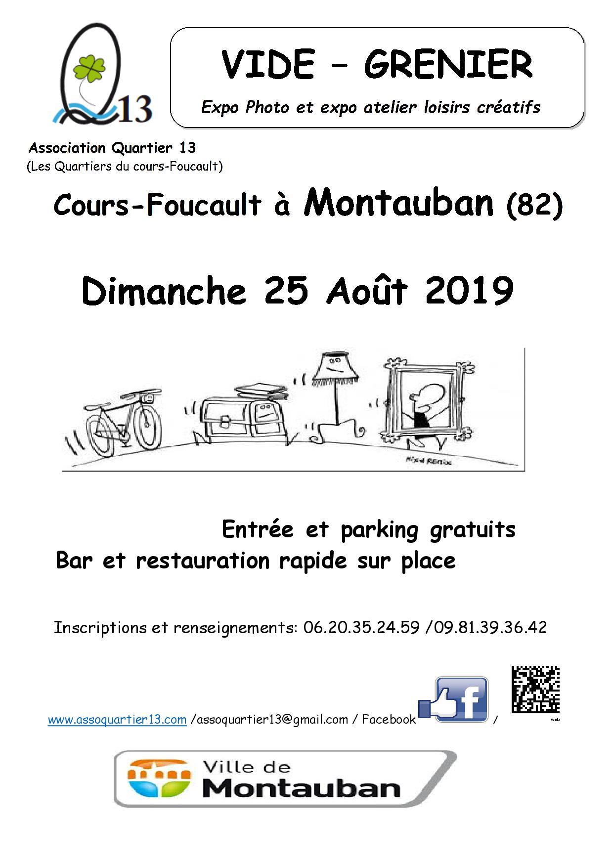 association quartier 13 montauban 82