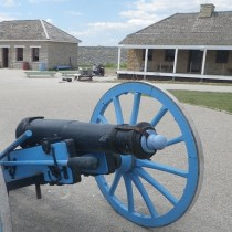 Piece of artillery at Fort Snelling. (c) J.S. Reinitz 2014
