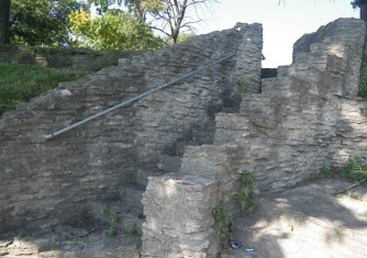 Steps that once lead to homes on the Island of No Worries. (c) 2014 J.S. Reinitz