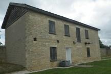 North barracks at Fort Atkinson, now a visitors center. (c) 2015 J.S.Reinitz