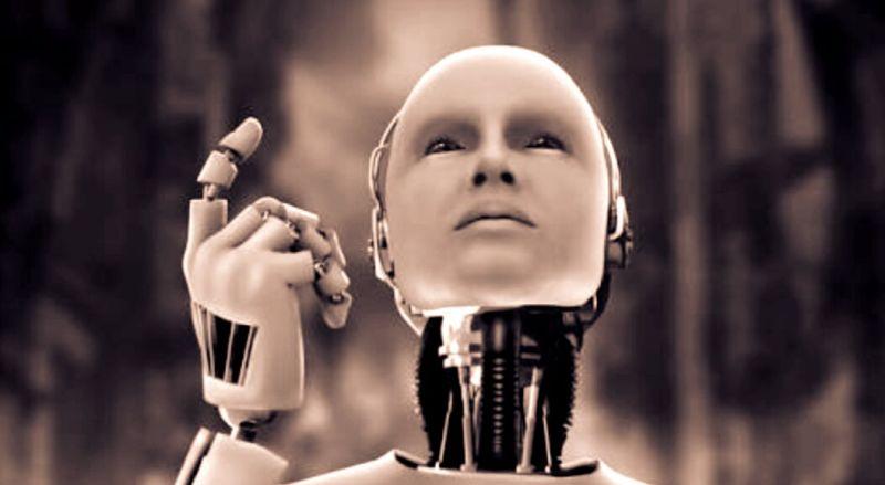 Artificial Intelligence Humanoid