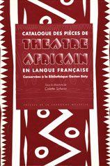 Catalogue des pièces de théâtre africain