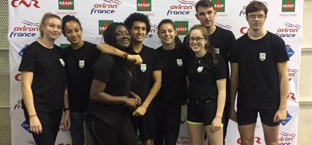 Championnat de France d'Aviron Indoor 2017