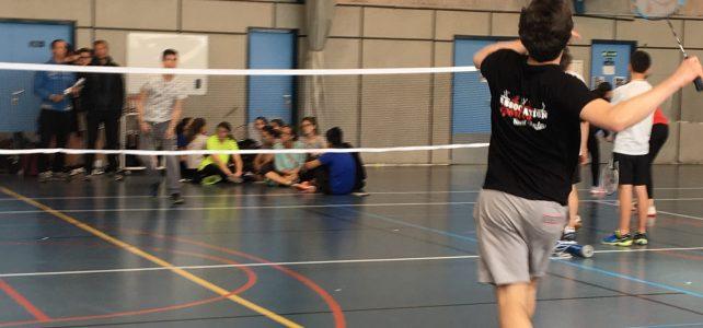 Résultats juniors du challenge départemental de Badminton