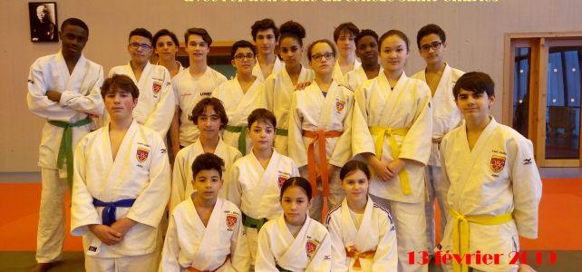 Résultats Championnat Académique de JUDO UNSS du 13 février 2019