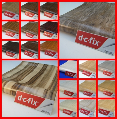Self Adhesive Wood Design