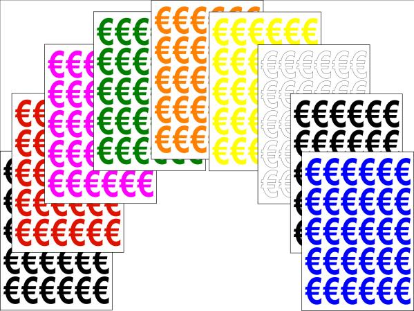 Euro Stickers