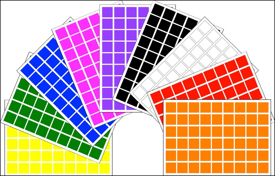 Square Shape Stickers