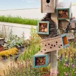 Ландшафтный дизайн. Домики для насекомых