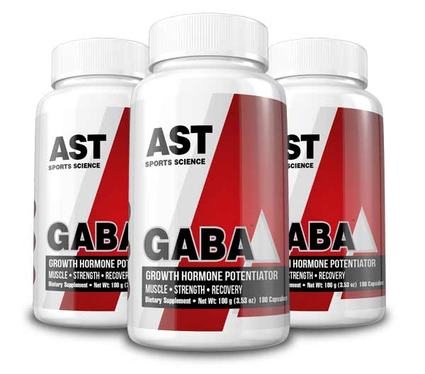 GABA Increases Post-Workout Growth Hormone by 480% - AST