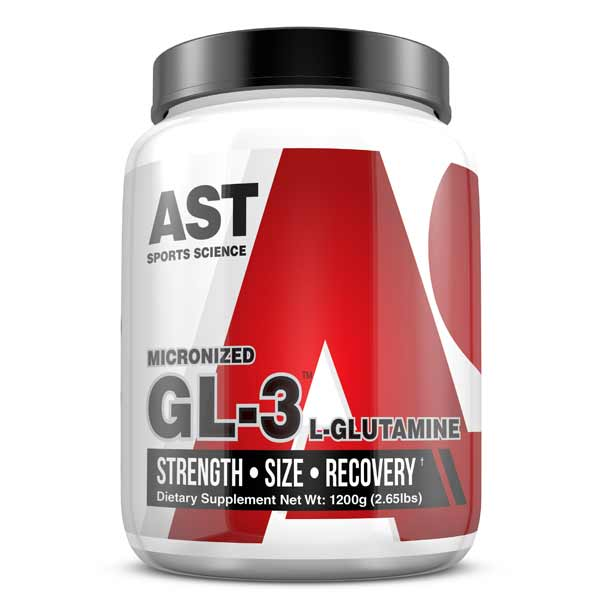 What is the best way to take GL3 Glutamine on training and non-training days?