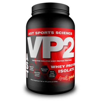 Best Whey Protein Supplement - VP2 Whey Isolate Fruit Punch
