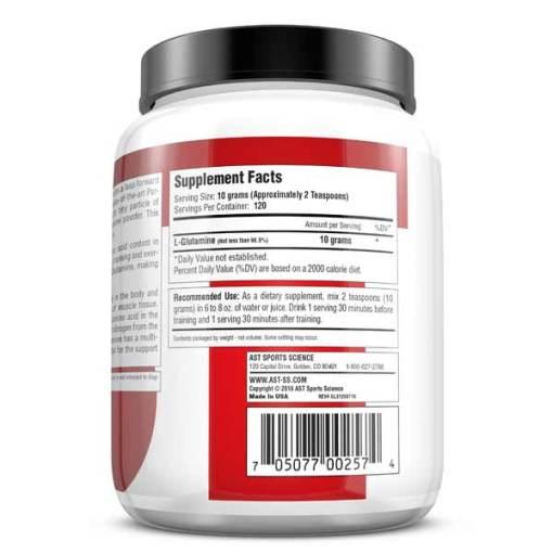 GL3 L-Glutamine 1200 Grams - Supplement Facts