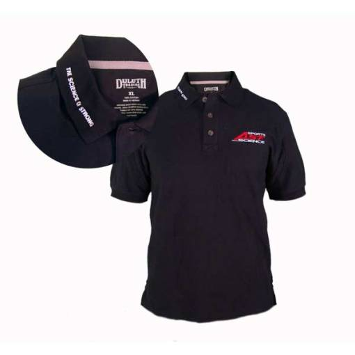 AST Science of Strong Polo with Collar Detail