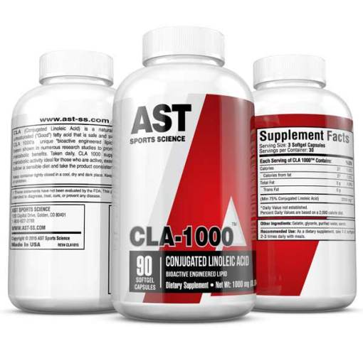 CLA-1000 Bioactive Engineered Lipid - 3-Up