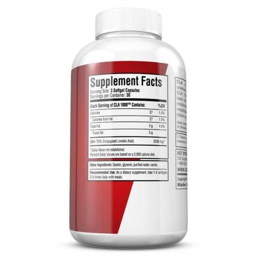 CLA-1000 Bioactive Engineered Lipid - Supplement Facts