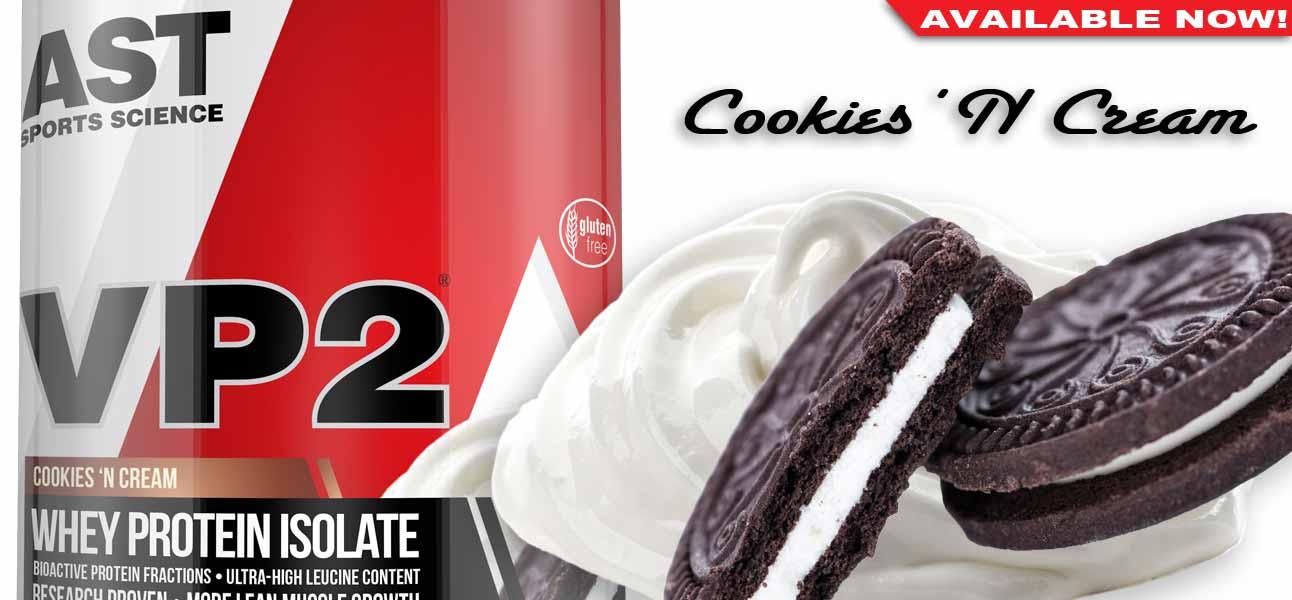 New Cookies and Cream VP2