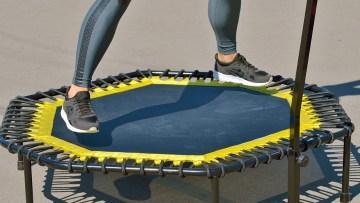 szkolenie fitness jump, trampolina