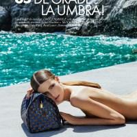 Anca Tiribeja for Elle Romania July 2013
