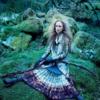 Into The Woods - Raquel Zimmermann by Mikael Jansson for Us Vogue September 2015