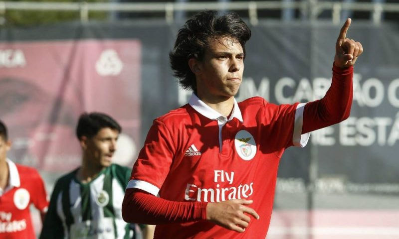 Joao Felix first made his mark at SL Benfica in Portugal as a teenager.