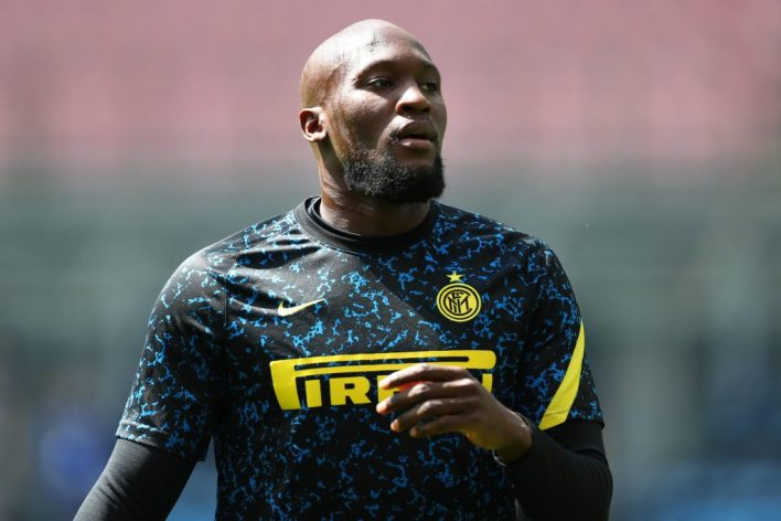 Romelu Lukaku of Inter Milan Chelsea transfer news.