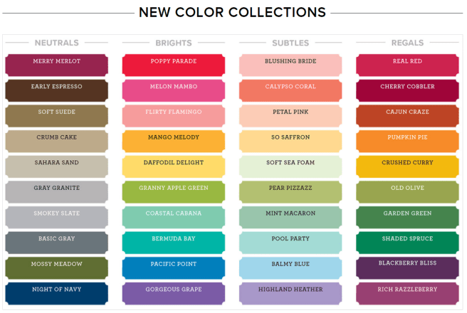 New Color Collections