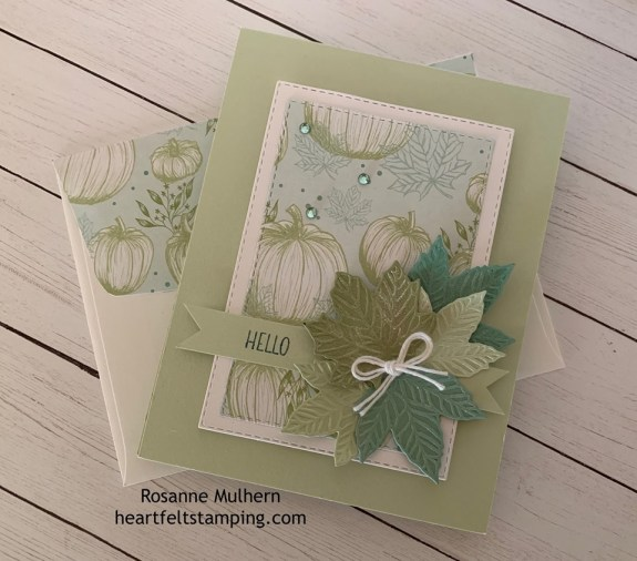 Rosannes Fall Card
