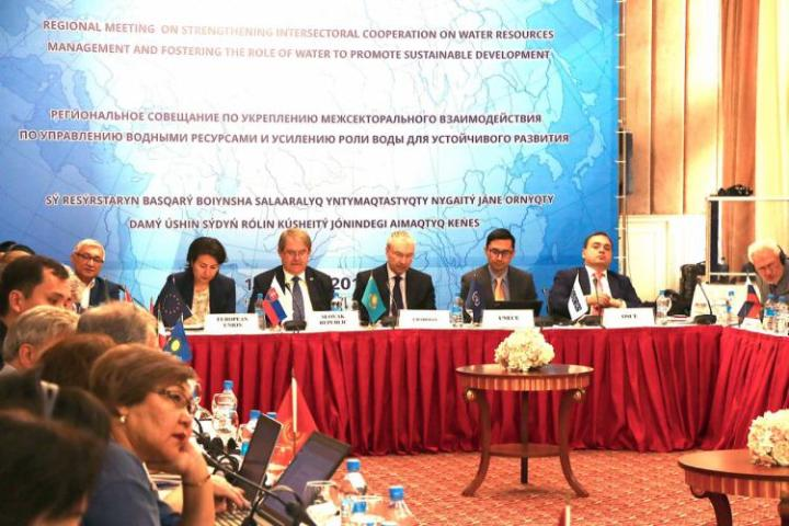 Central Asian countries discuss transboundary water management     Central Asian countries discuss transboundary water management issues