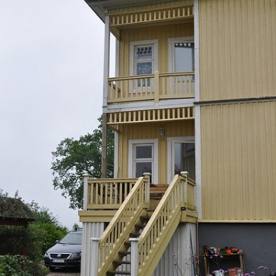 En ny veranda!