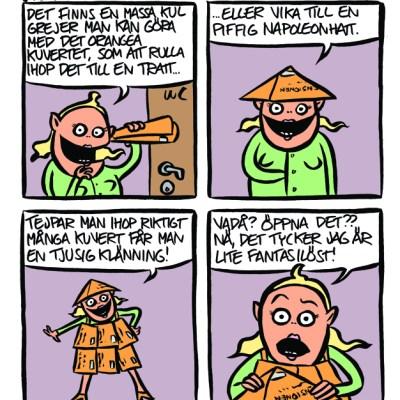 Det orange kuvertet