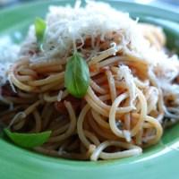 Snabb tomatsås med chili