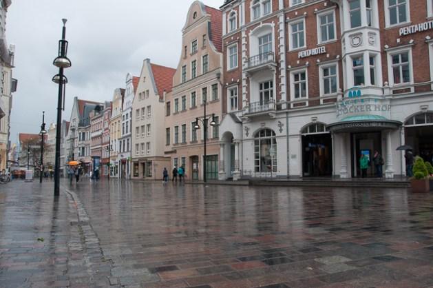 Fussgängerzone Rostock