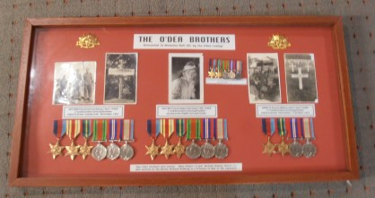 O'Dea Family Tribute to Vertred & his 4 brothers who served in WW2