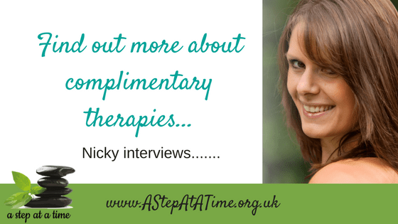 Find out more about complimentary therapies...