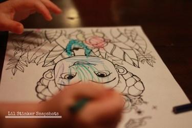 Coloring Frida