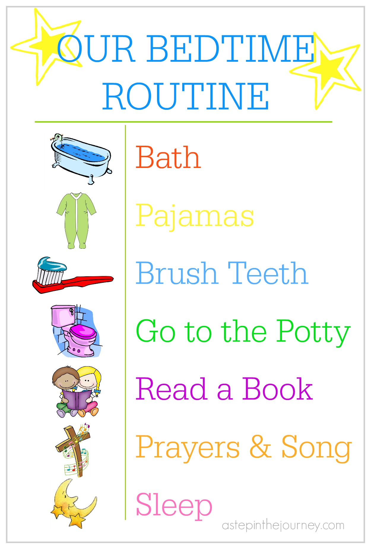 Creating A Bedtime Routine