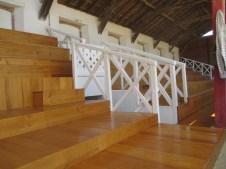 Rénovation d'une tribune des arènes de Cazaubon