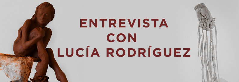 Lucía Rodríguez: «Me fascina la idea de trabajar con la energía que transmite la materia»