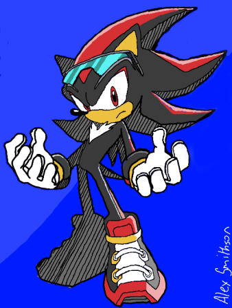 Shadow the Hedgehog (Sonic Riders)