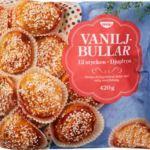 Vaniljbullar från Coop kan även en vegan äta!
