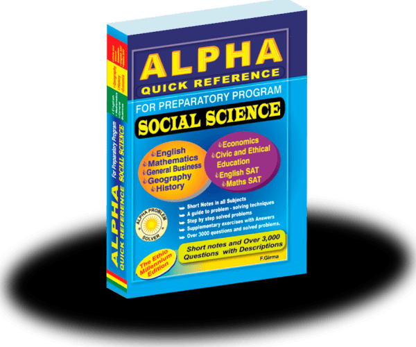 Alpha Quick Social for Grade 11 and 12