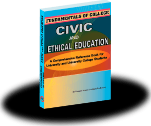 Fundamental College Civics