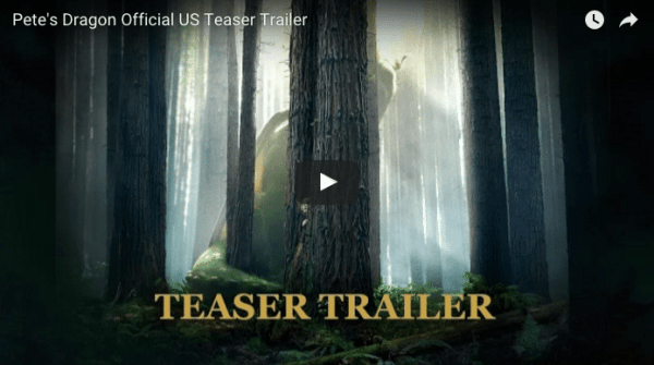 New Pete's Dragon Teaser Trailer - As The Bunny Hops®