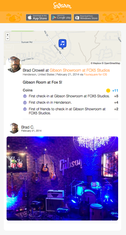 As The Crows Fly Podcast Swarm Checkin Brad Crowell Gibson Showroom FOX5 Studios Las Vegas