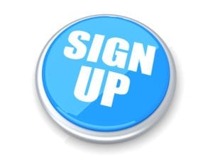 Sign Up Button For Weekly Management Systems. Reduce Dental Front Desk Stress When You Sign Up.
