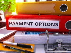 Offer dental patients payment options to improve dental office collections.
