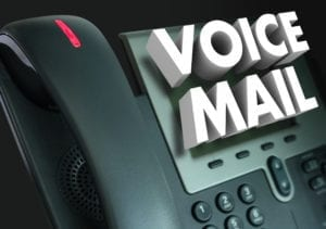Checking our weekend voicemail messages and texts are a priority in our dental front desk Mondays.