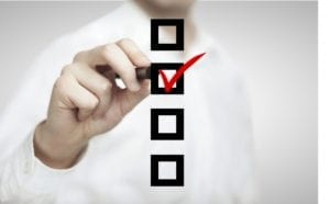 A list of agenda items should be posted prior to a dental office business meeting.